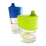 Silikids Siliskin Universal Sippy Cup Tops 2pk