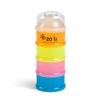 Zoli On The Go Snack/Formula Stacker & On The Go Lids