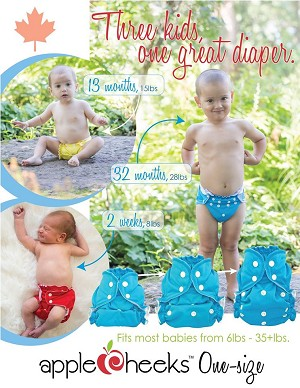 AppleCheeks One Size Diaper Cover