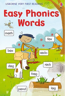 Usborne 'Very First Reading: Easy phonics words' book
