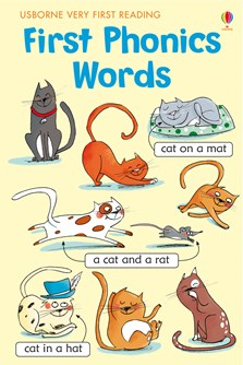 Usborne 'Very First Reading: First phonics words' Book