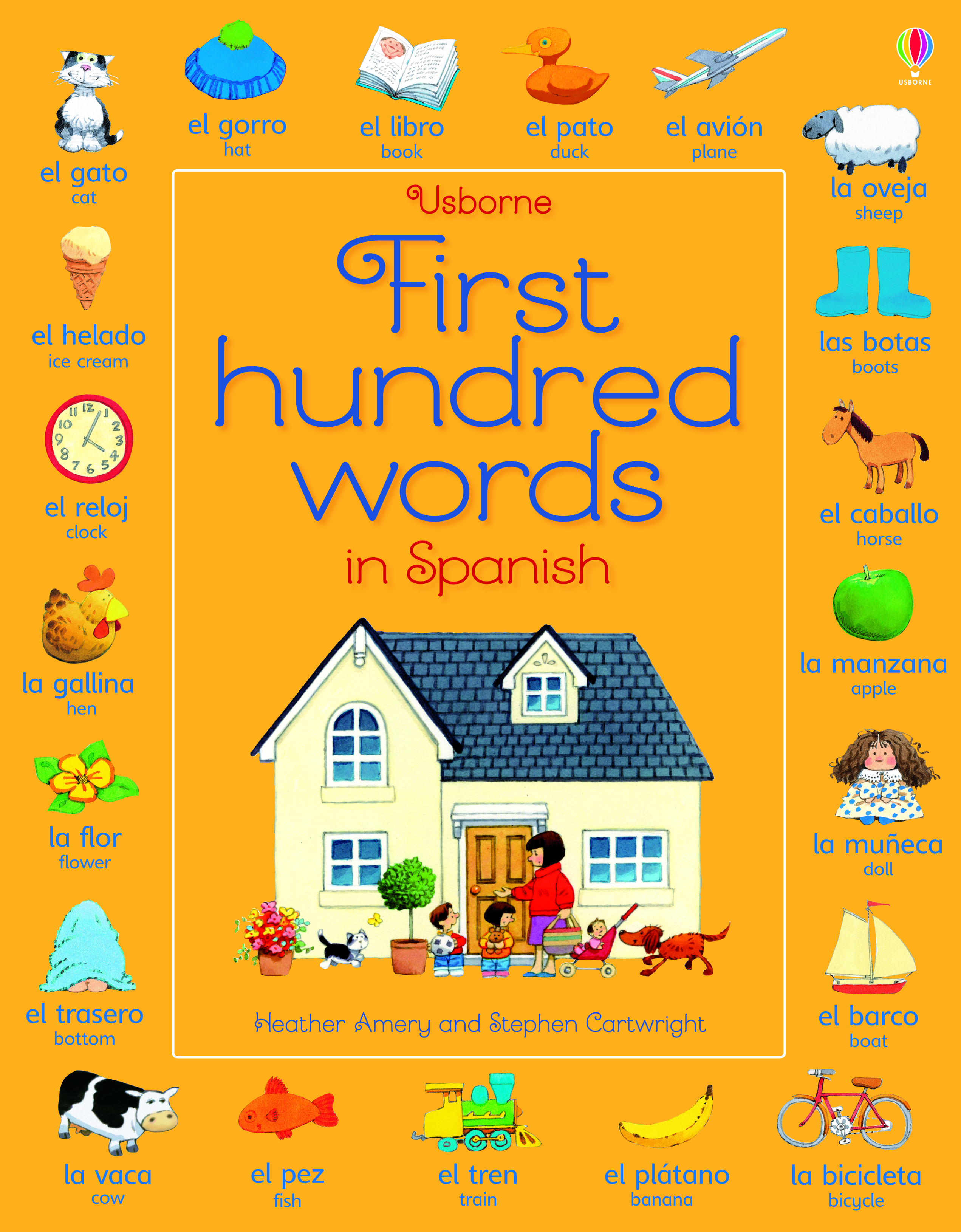 Usborne First Hundred Words in Spanish