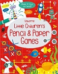 Usborne 'Little Children's Pencil and Paper Games' book