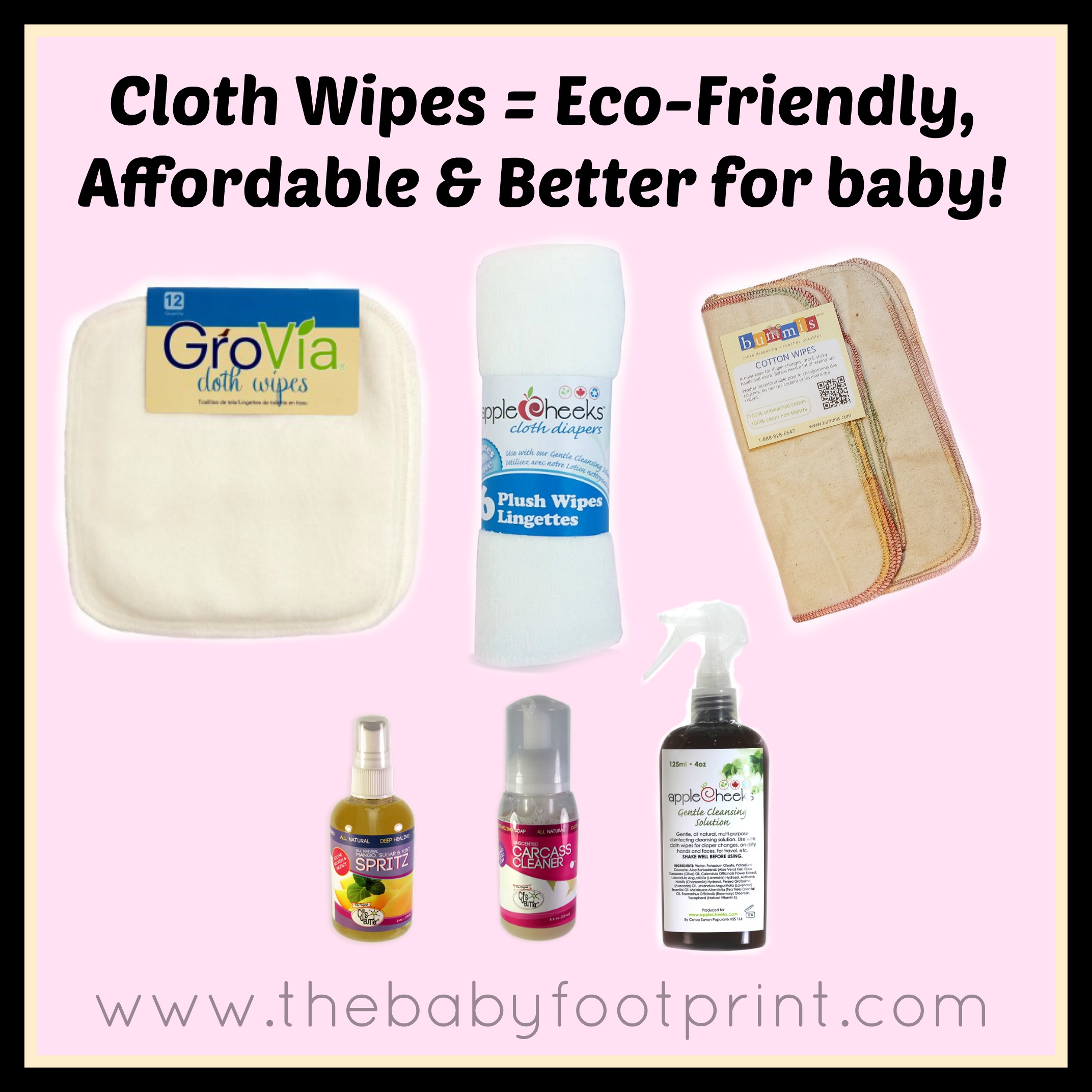 Cloth Wipes, Its Easy & Better!