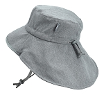 Twinklebelle - Jan & Jul Adjustable Adventure Hat Heather Grey