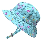 Twinklebelle - Jan & Jul  Aqua Dry Grow With Me Hat Spring Flowers