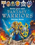 Usborne 'Build your own Fantasy Warriors Sticker Book'