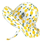 Twinklebelle Floppy Grow With Me Hat - Yellow Pineapples