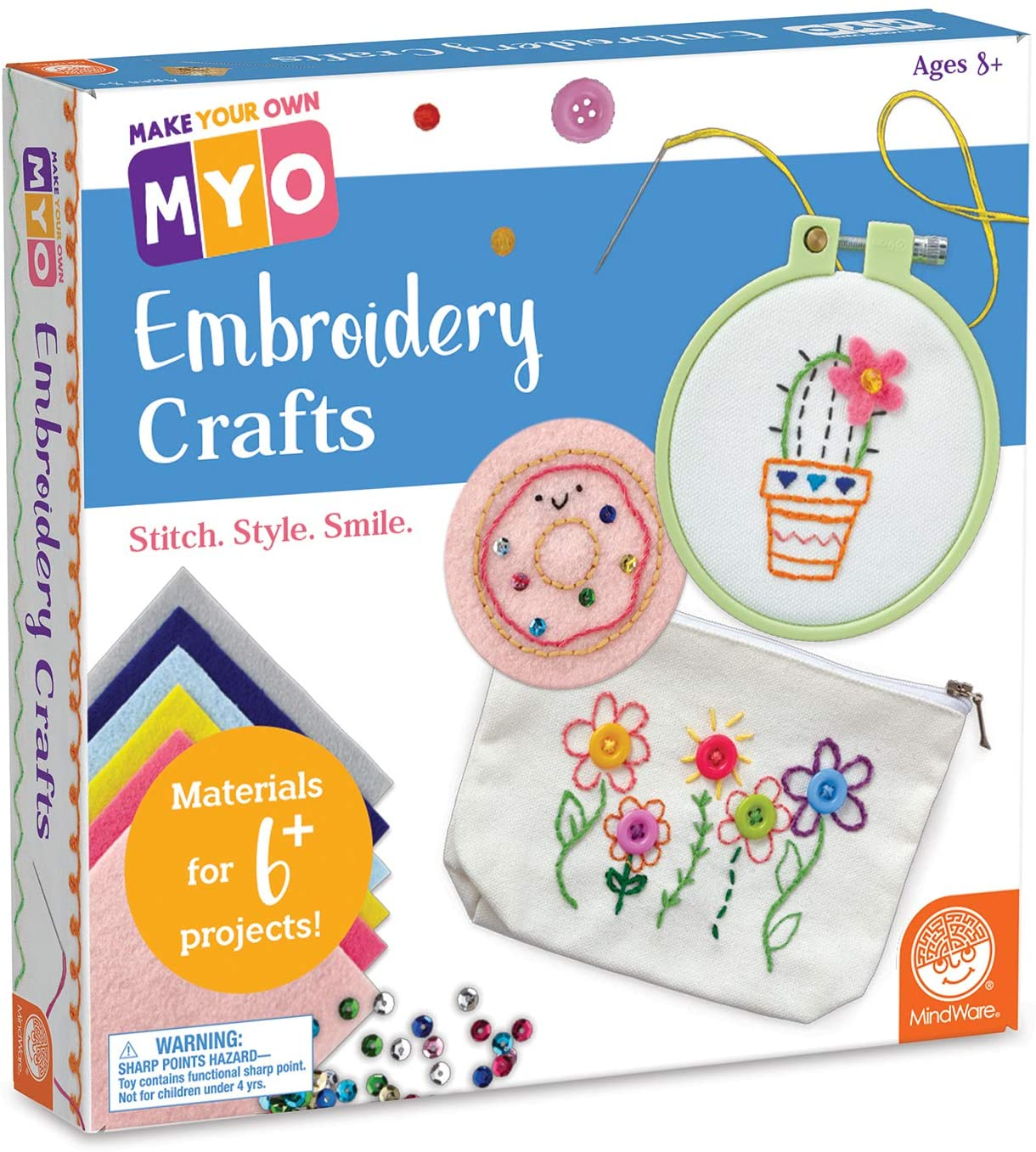 Make Your Own Embroidery Crafts