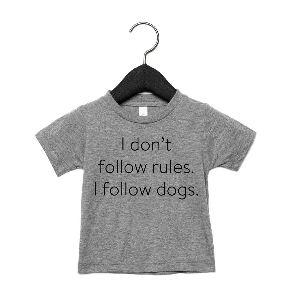 Portage & Main Kids Tee - Don't Follow Rules