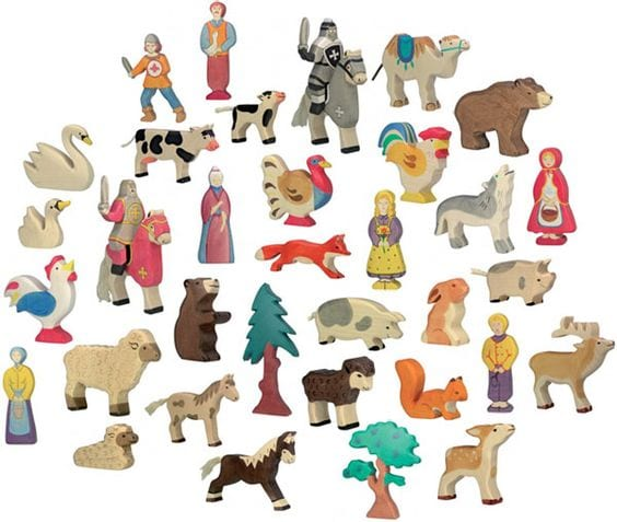 Holztiger Wooden Toys - Woodland and Meadow Animals