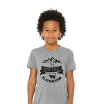 Portage & Main Kids Tee - The Mountains Are my Playground