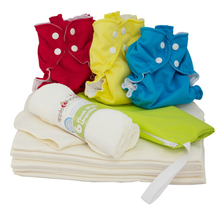 AppleCheeks One Size Diaper Starter Kit