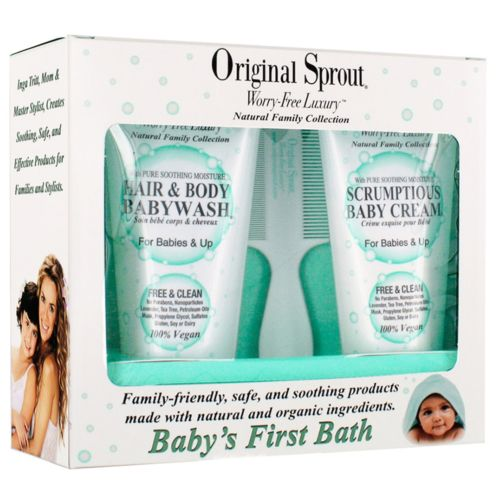 Original Sprout Baby First Bath Gift Set