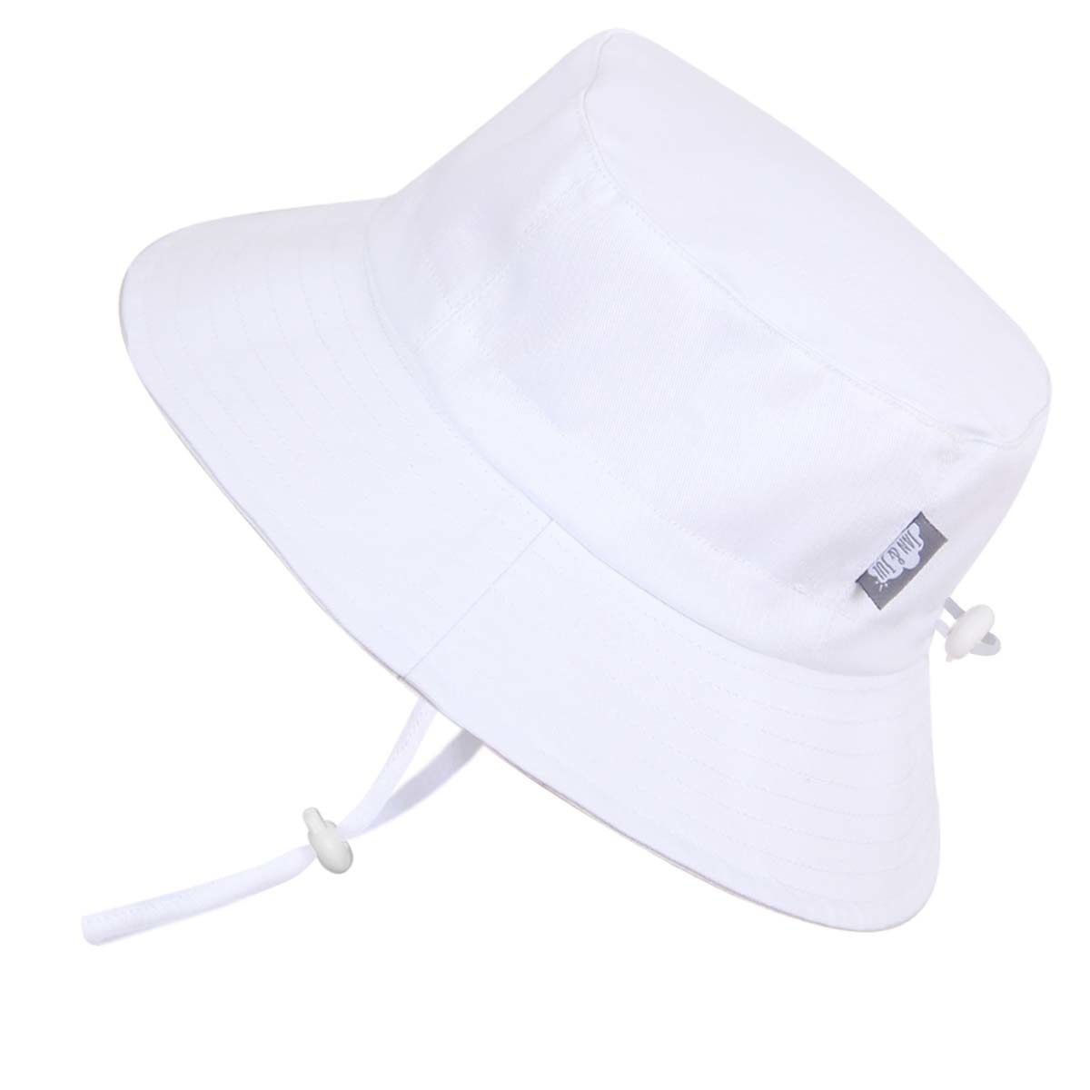 0e39f234c3b Twinklebelle Cotton Bucket Grow With Me Hat - White