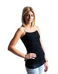 UnderCover Mama Tank - Black Lace Bottom