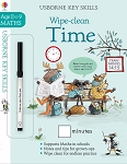 Usborne 'Wipe-Clean Time 8-9' Book