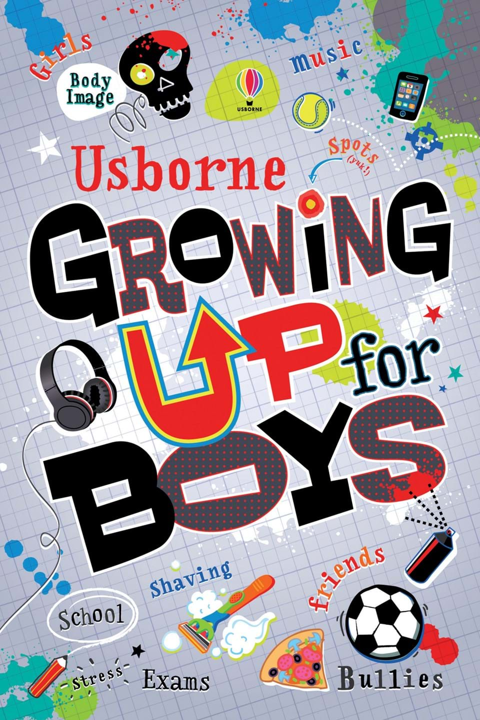 Usborne 'Growing up for Boys' Book