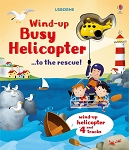 Usborne 'Wind-up busy helicopter...to the rescue' Book