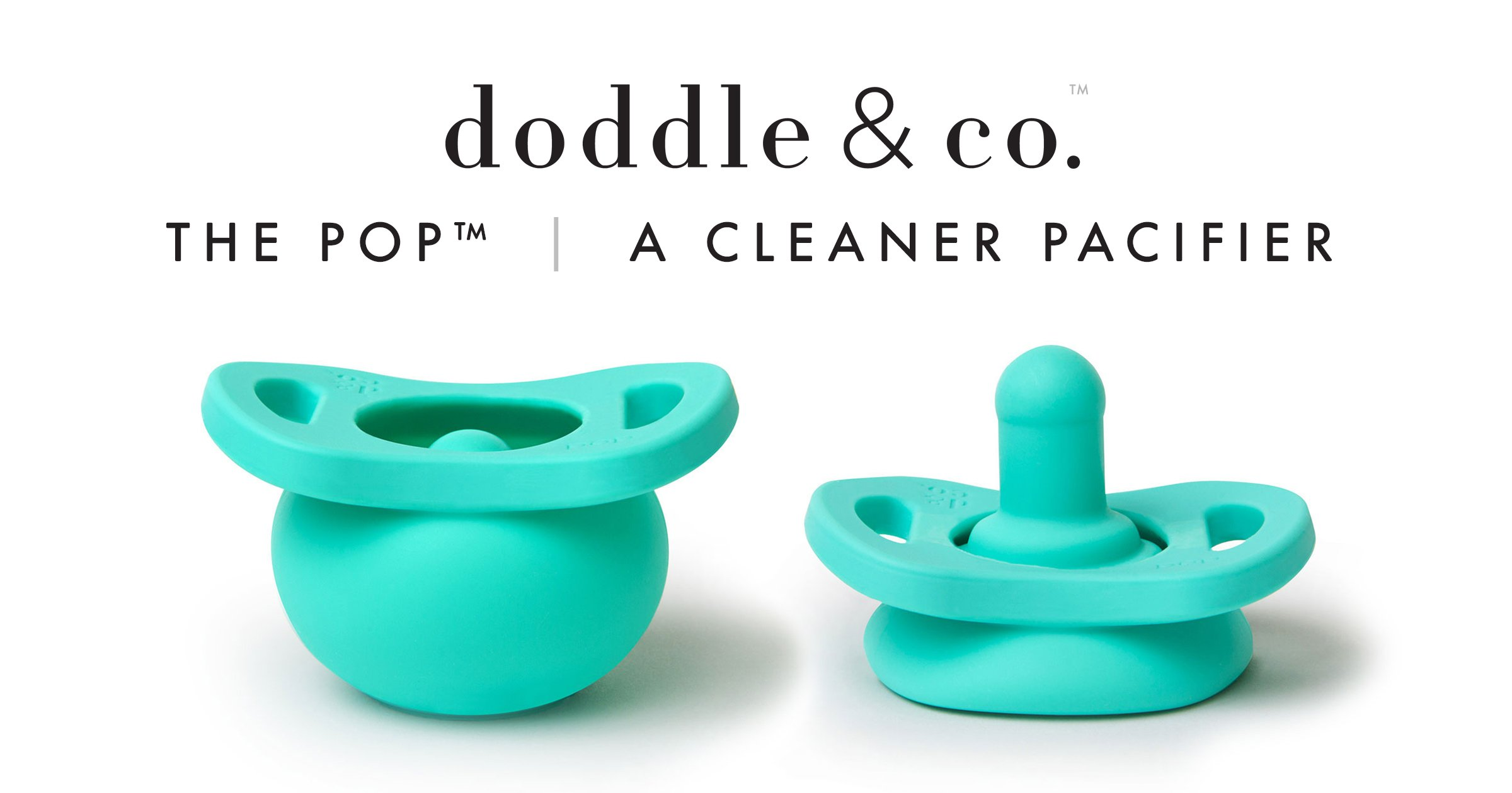 Doddle & Co Pop Pacifier - the cleaner pacifier