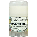Element Botanicals Sweatshoppe Natural Deodorant TRAVEL Size