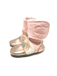 Nooks Design Felt Wool Booties Embroidered - Love Child