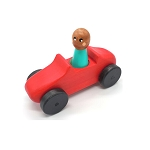 Meadowlark Toy Company - Roadster Car & Peg Doll