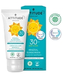 Attitude - Baby & Kids Mineral Sunscreen (Fragrance Free)
