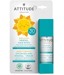 Attitude - Baby & Kids Mineral Sunscreen Face Stick