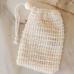 No Tox Life - Agave Woven Soap Scrubber Bag