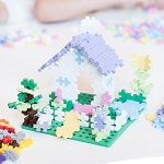 Plus Plus Learn to Build Set - Pastels 400pcs