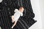 LouLou Lollipop Luxe Bamboo Swaddle