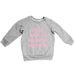 Portage & Main Sweatshirt - Can't, Have to Walk my Unicorn