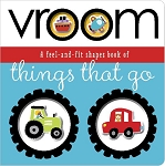 Make Believe Ideas - Vroom Feel and Fit Shapes Book Things that Go