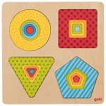 Goki Layer Puzzle Geometrical Shapes