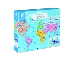 Janod Educational Puzzle - World Curiosities 350pc