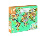 Janod Educational Puzzle The Dinosaurs 200pc