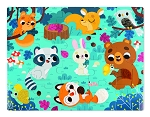 Janod Tactile Puzzle - Forest Animals 20pc