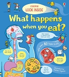 Usborne Look Inside What Happens When you Eat Book