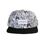 Headster Kids Snapback Hat - Meow Mix