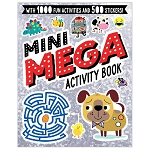 Mini Mega Activity Book SILVER By Lara Ede, Charly Lane & Stuart Lynch.