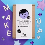 No Nasties NANCY Purple Deluxe Box Pretty Play Makeup Box