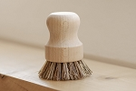 No Tox Life - Pot Scrubber - White Teakwood & Plant Fibers