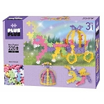 Plus Plus Mini Basic 220pc set - Unicorn & Carriage