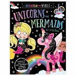 Make Believe Ideas Scratch and Sparkle Unicorns & Mermaids Activity Book