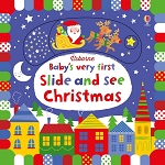 Usborne 'Babies First Slide & See Christmas' Book