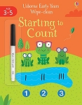 Usborne Wipe Clean Early Years Starting to Count