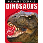 Make Believe Ideas - Ultimate Sticker File Dinosaur Book