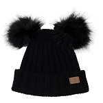 CaliKids Two PomPom Toque