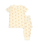Silkberry Bamboo Short Sleeve 2 pc Pajama Set